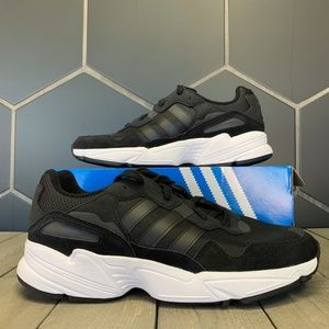 Adidas Yung-96 Core Black White Running Shoes